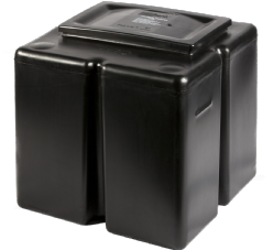68 Litre / 15 Gallon Rectangular Polytank PT2 Cold Water Storage Tank 18-18-18